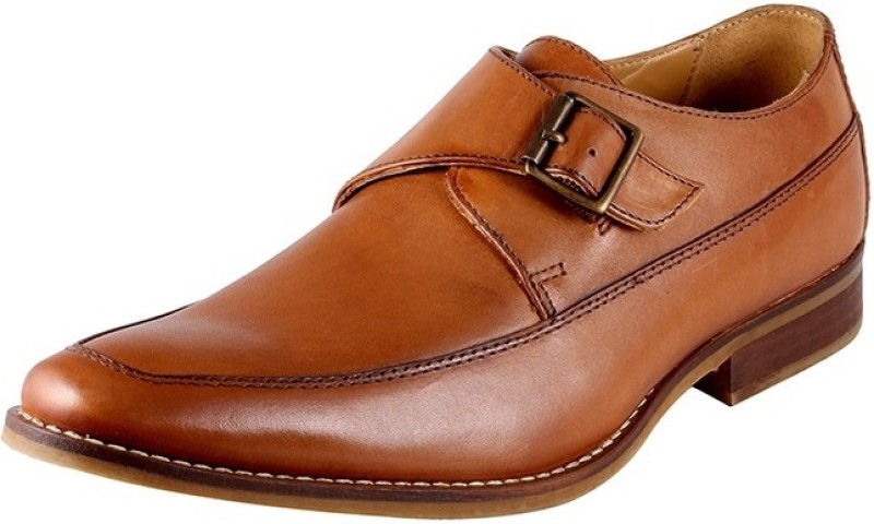 Urban Country Monk Strap For Men(Tan)