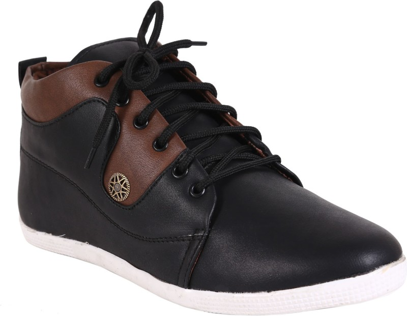 Quarks Lifestyle Casual Shoes For Men(Black)