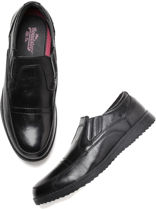 Roadster Loafers For Men(Black)