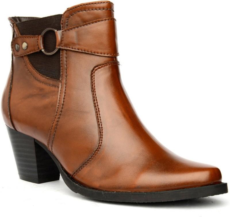 Bruno Manetti Patrizia Boots For Women(Tan)
