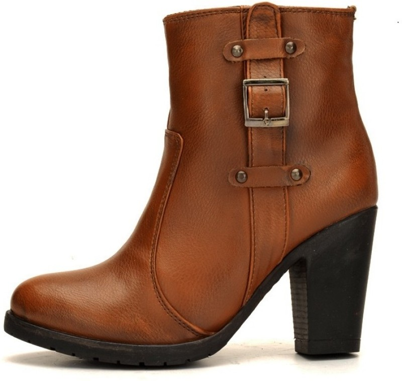 Bruno Manetti JD-149 Boots For Women(Tan)