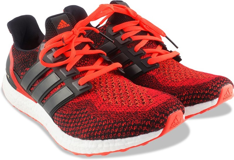 ADIDAS ULTRABOOST M Running Shoes For Men(Black, Red)
