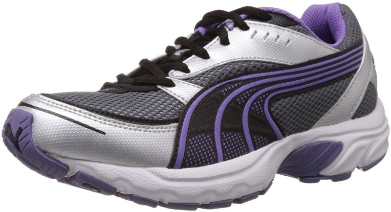 Puma Axis II Wns IDP Running Shoes For Women(Purple, Silver)