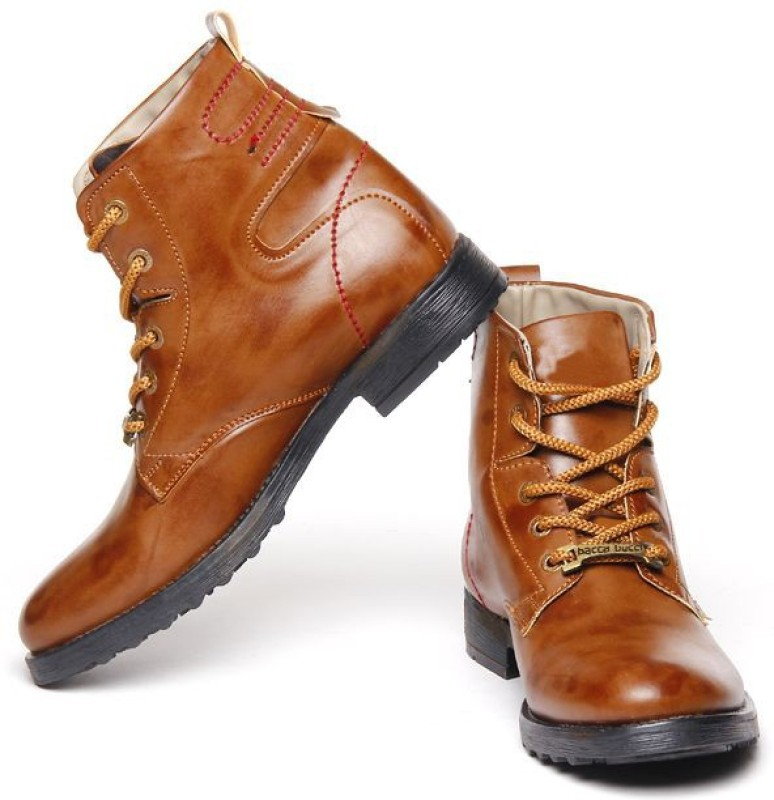 Bacca Bucci Stylish lace Up Boots For Men(Brown)
