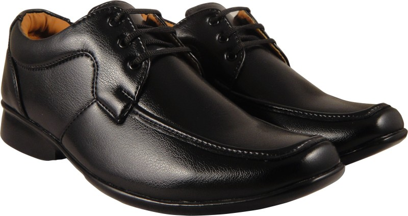 Action Synergy Mens PL4468 Black Formal Lace Up(Black)