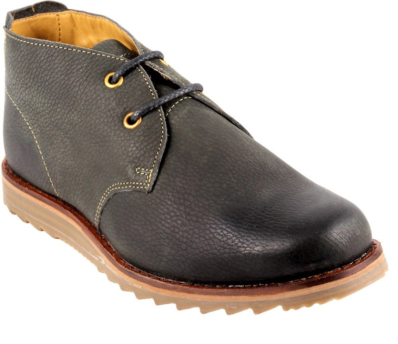 Urban Country Mens Boots For Men(Black)