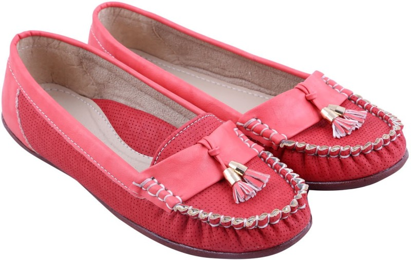 Adorn New Look Loafers(Red) New Look