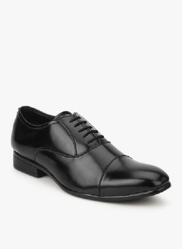Hirels Lace Up For Men(Black)