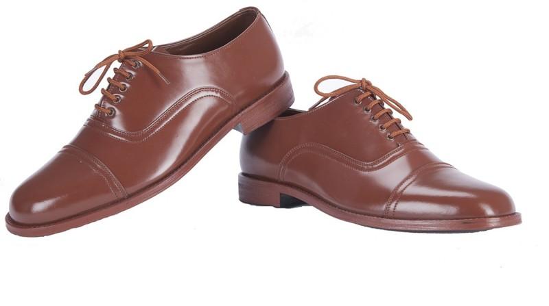 baf4c84a58 Alden Shoes Police Uniform Lace Up Shoes For Men(Brown)