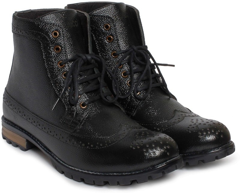 Bacca Bucci Boots For Men(Black)