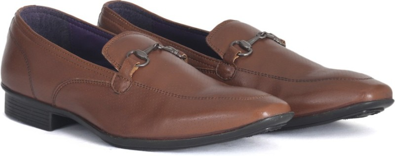 Knotty Derby Saddle Loafer Slip on For Men(Tan)
