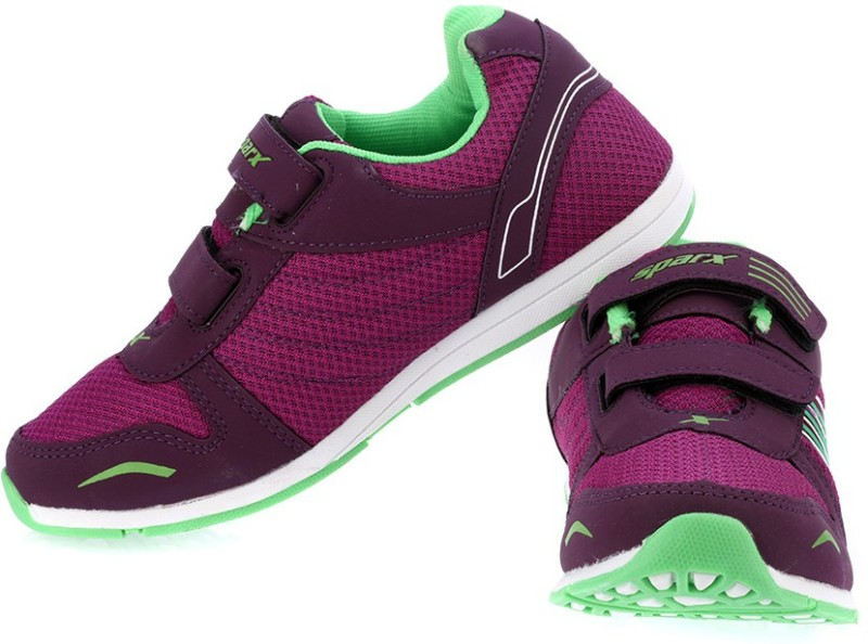 Sparx Trendy Mauve Green Running ShoesPink Green