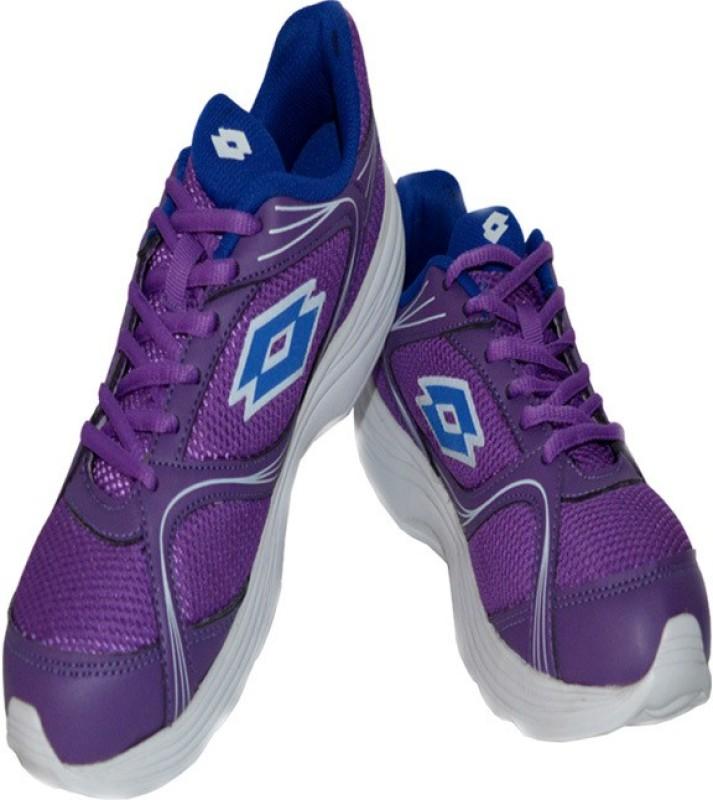 Lotto Runlite Running Shoes(Purple, White)