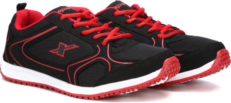 Sparx 88 Running Shoes(Black, Red)