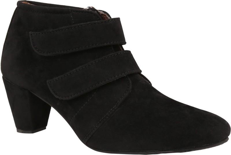 Exotique Heel Boots(Black)