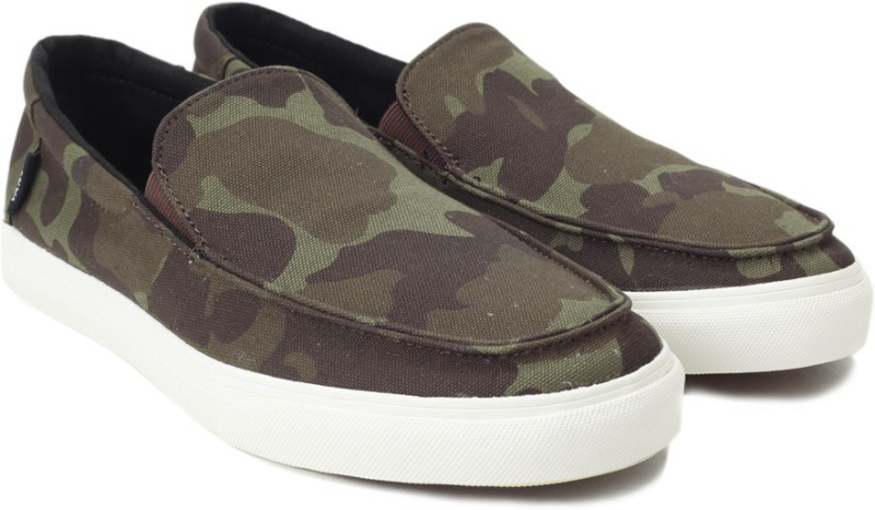 Vans Bali SF Loafers For Men(Green)