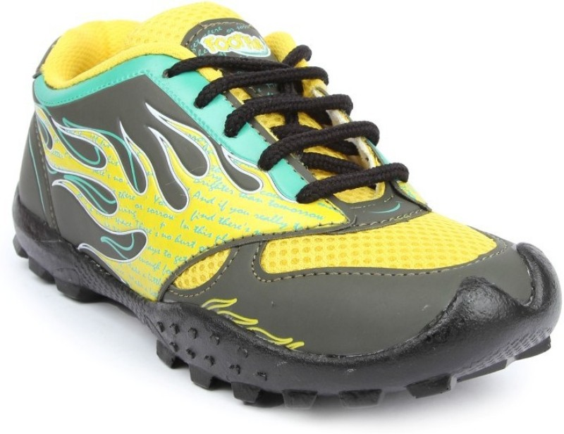 Footfun by Liberty Men Casuals For Men(Yellow)