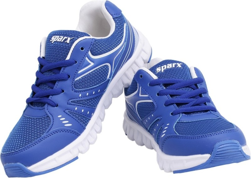 Sparx Stylish Royal Blue Running ShoesBlue White