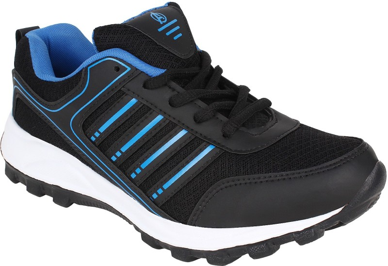 Aero Power Play Running Shoes(Black, Blue)