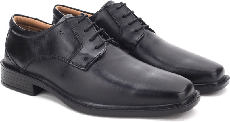 Arrow Lace up Shoes For Men(Black)