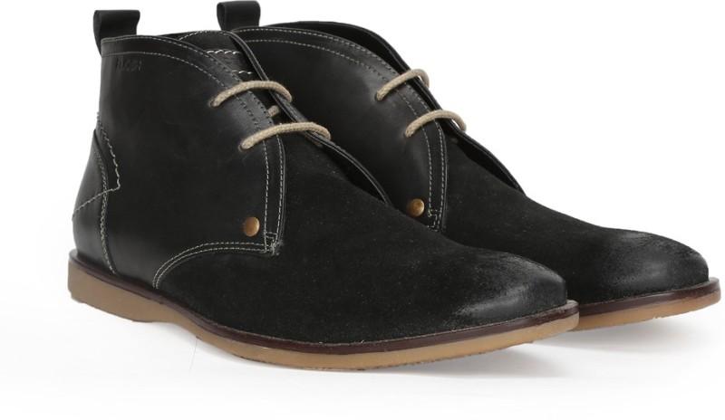 Ruosh Boots For Men(Black)