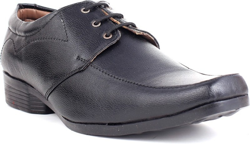 Guava Lace Up Shoes For Men(Black)