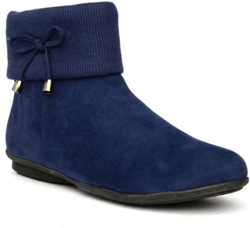 Bruno Manetti Calynda Women's Boots For Women(36, Navy) image