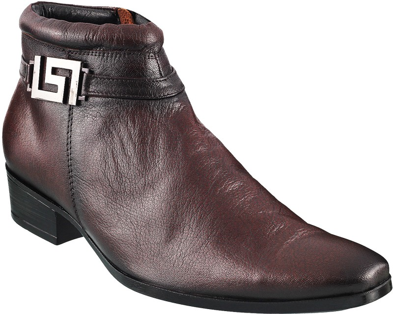 Mochi Mens Boots For Men(Brown)