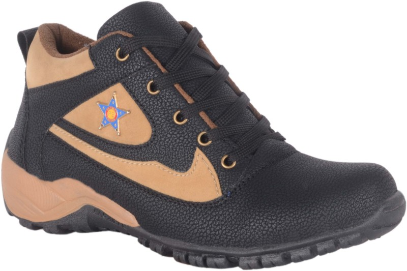 1AAROW Boots For Men(Black)