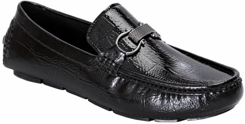 San Frissco EC 241 Loafers For Men(Black)