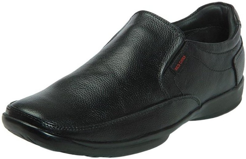 Red Chief Slip On For Men(Black)