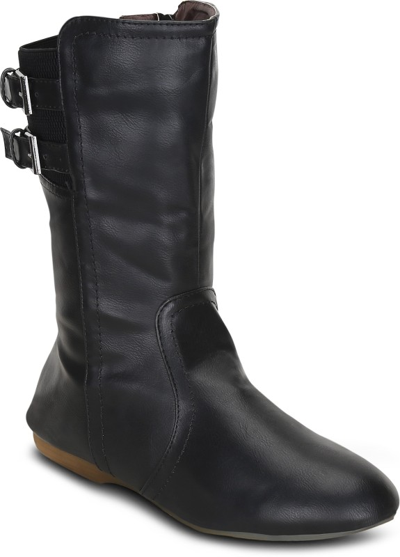 Get Glamr JENNY Boots For Women(Black)