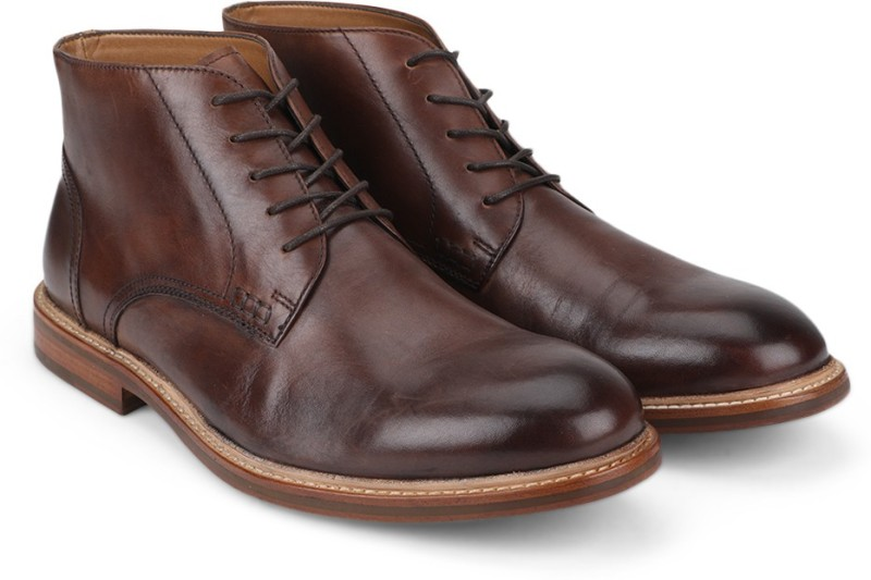 Kenneth Cole Lace Up For Men(Brown)