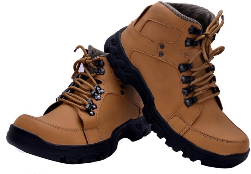 Prolific Royal Walk Boots For Men(Tan)