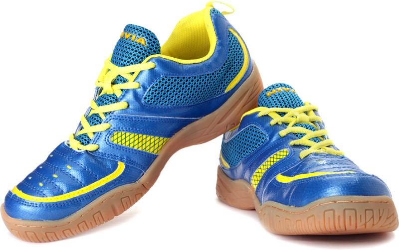 Nivia Achiever Badminton Shoes For Men(Blue)