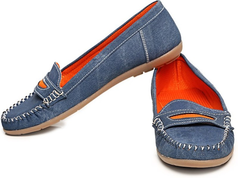 Bare Soles Loafers(Blue)
