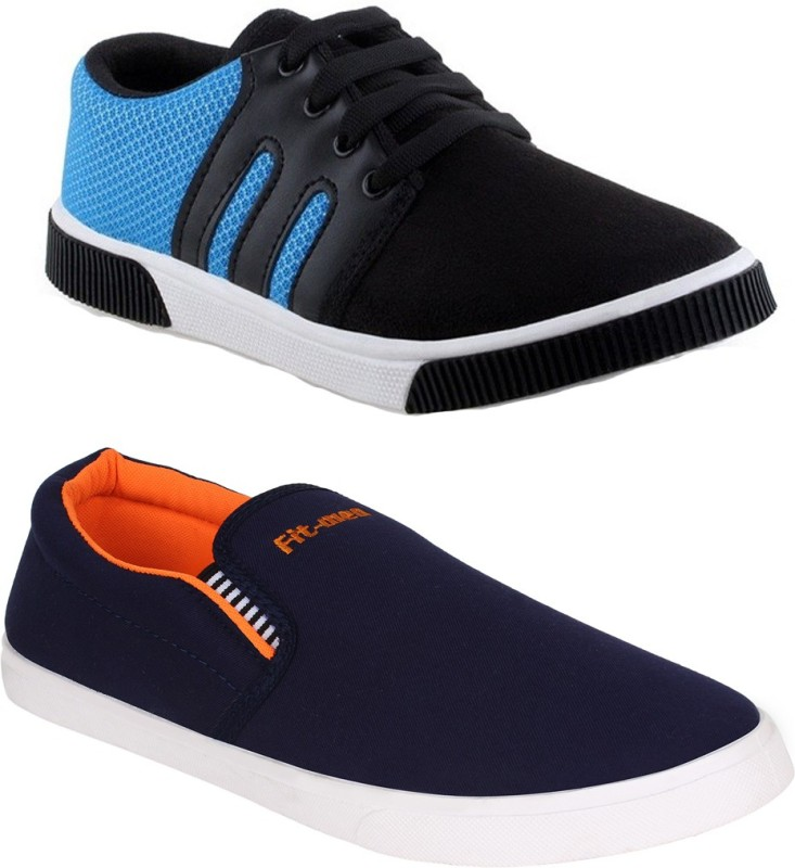 Oricum Blue-347+486 Sneakers(Blue)
