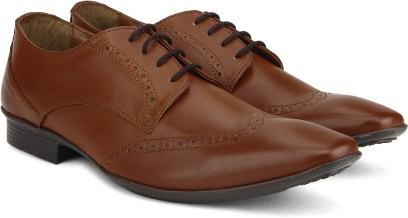 Knotty Derby Men Lace up For Men(Tan)