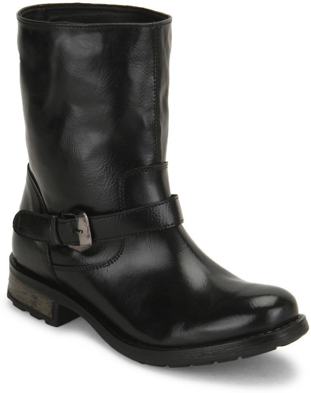 Knotty Derby Hannah Short Boots For Women(Black)