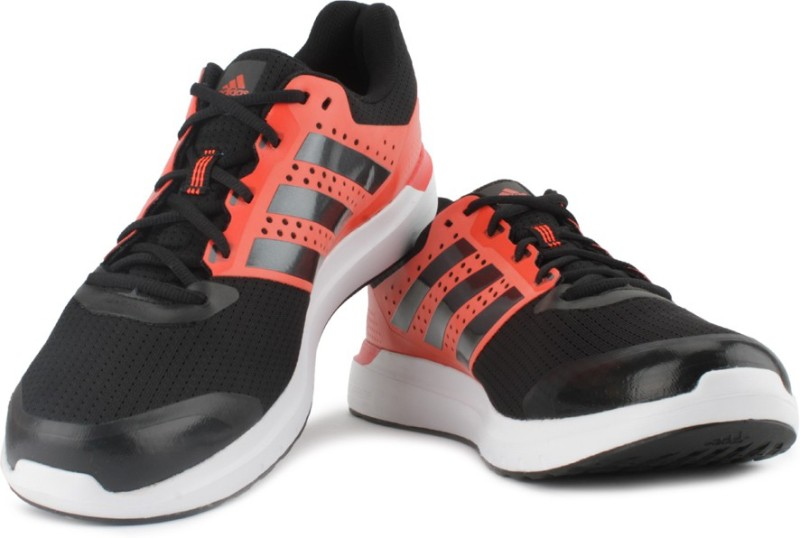 ADIDAS DURAMO 7 M Running Shoes For Men(Black, Orange)