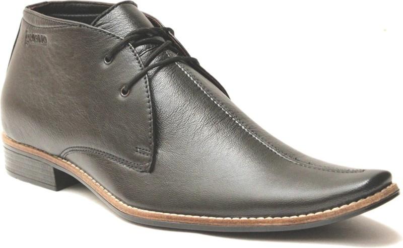 Guava Lace Up Shoes(Black)