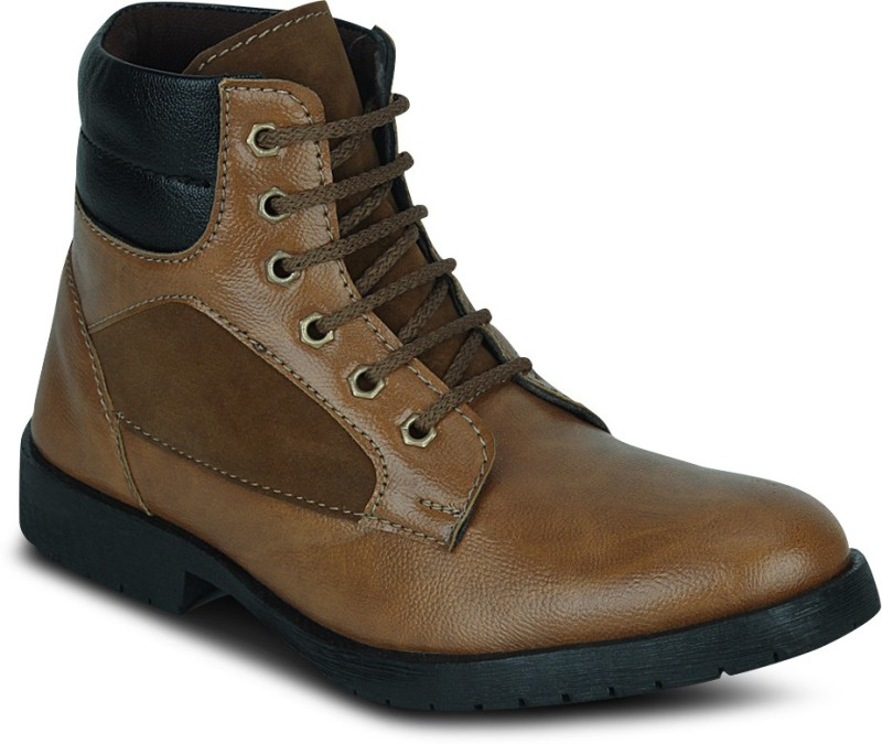 Kielz Gents Footwear Boots(Tan)