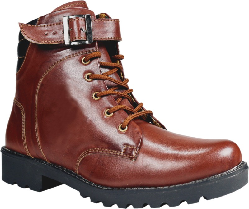 Bacca Bucci 8100 Boots For Men(Brown)