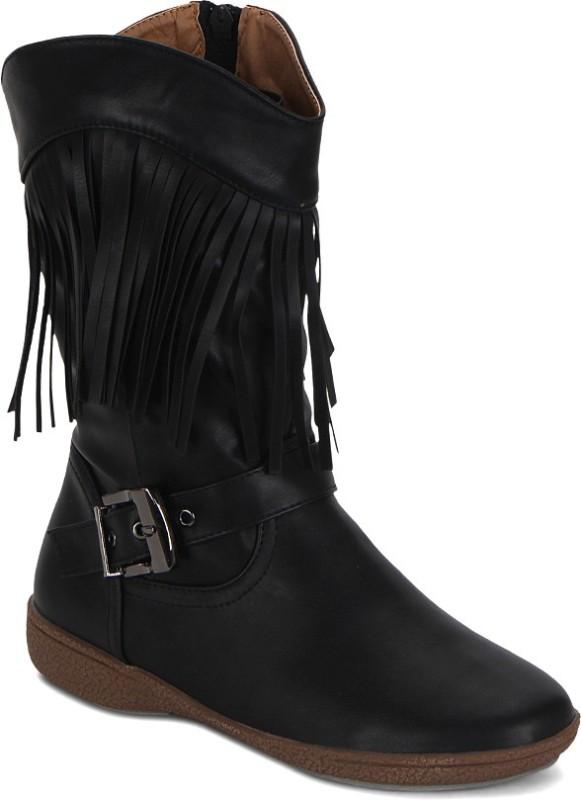 Kielz Boots For Women(Black)