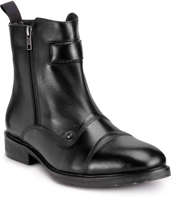 Teakwood Boots For Men(Black)