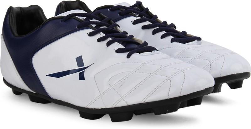 Vector X Fusion White Blue Men's Football Shoes For Men(2, White, Blue) image