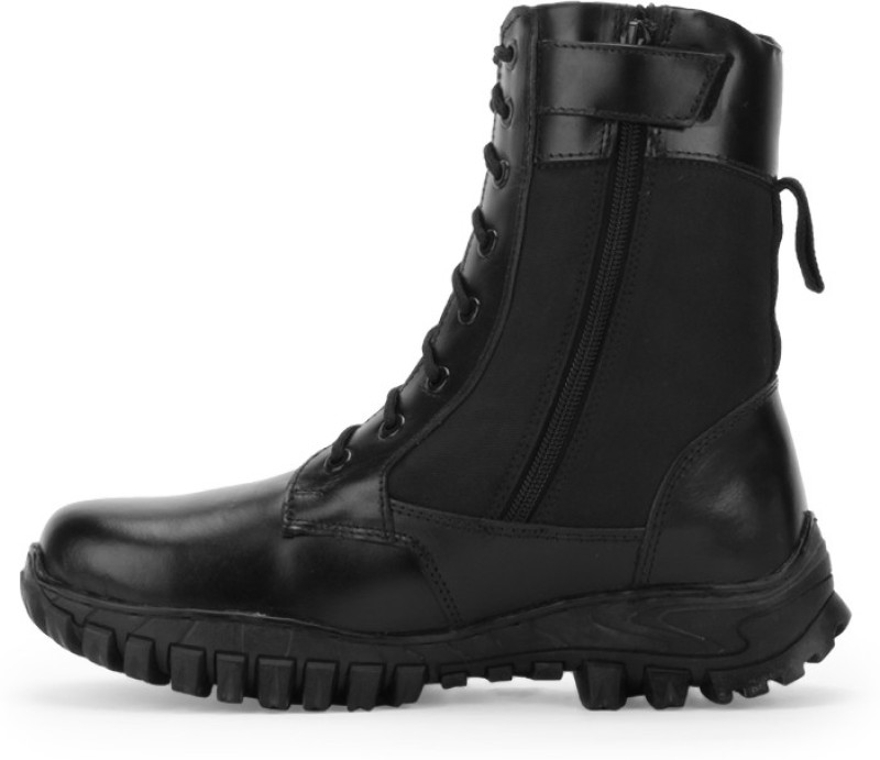 Armstar High Ankle Side Zipper Boot Boots For Men(Black)