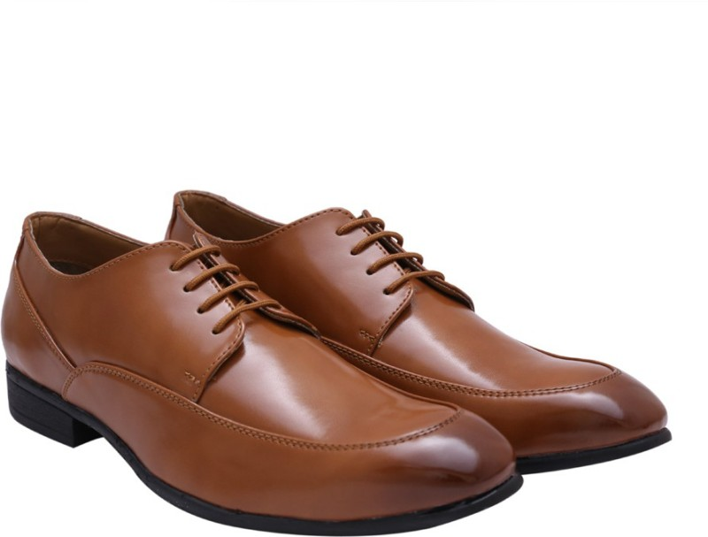 Hirels Lace Up For Men(Tan)