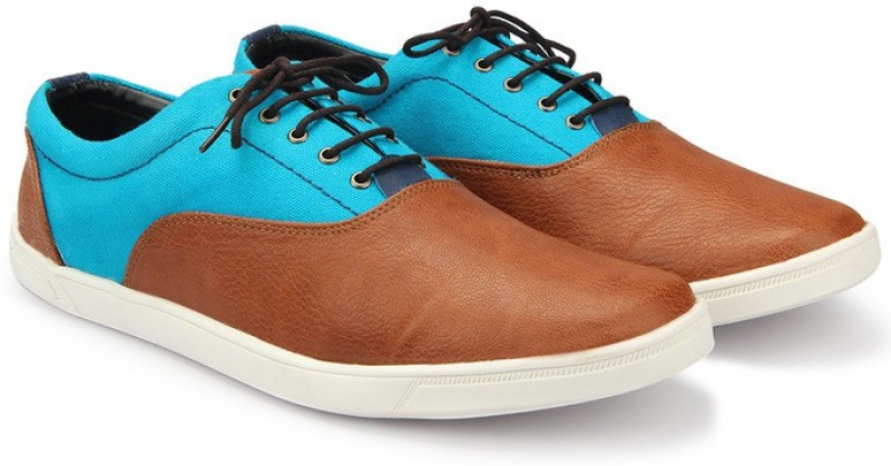 Knotty Derby Terry Classic Oxford Sneakers For Men(Blue, Brown)