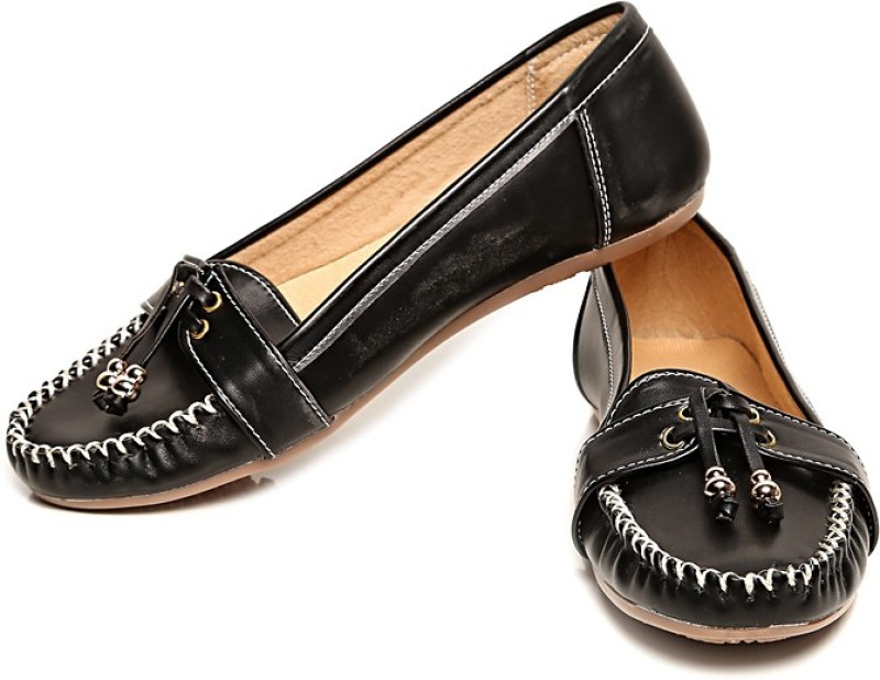 Bare Soles Loafers(Black)